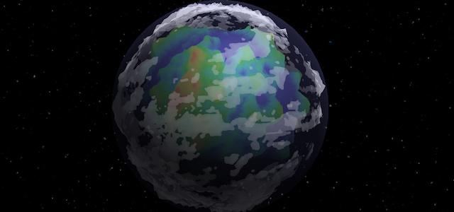 Generating Deterministic 3D Procedural Planets